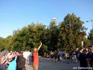 Флешмоб з фарбами холі на День Незалежності України 24.08.2017 року