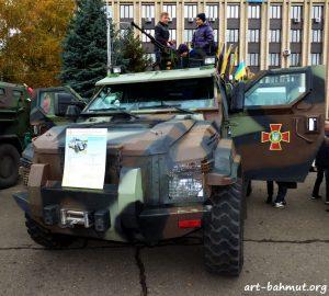 Святкування Дня Захисника України у місті Бахмут 14.10.2017 року фото 10