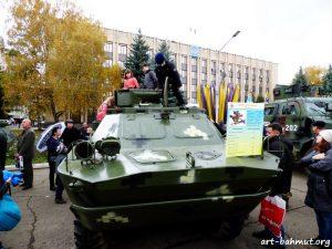 Святкування Дня Захисника України у місті Бахмут 14.10.2017 року фото 12