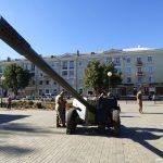 100-мм протитанкова гармата МТ-12 «Рапіра». Бахмут 12.10.2018 року