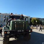Діти на автомобілі підвищеної прохідності КРАЗ. Бахмут 12.10.2018 року