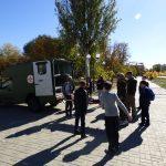 Військові медики демонструють свою роботу з порятунку людей. Бахмут 12.10.2018 року