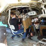Діти розглядають БТР зсередини. Бахмут 12.10.2018 року