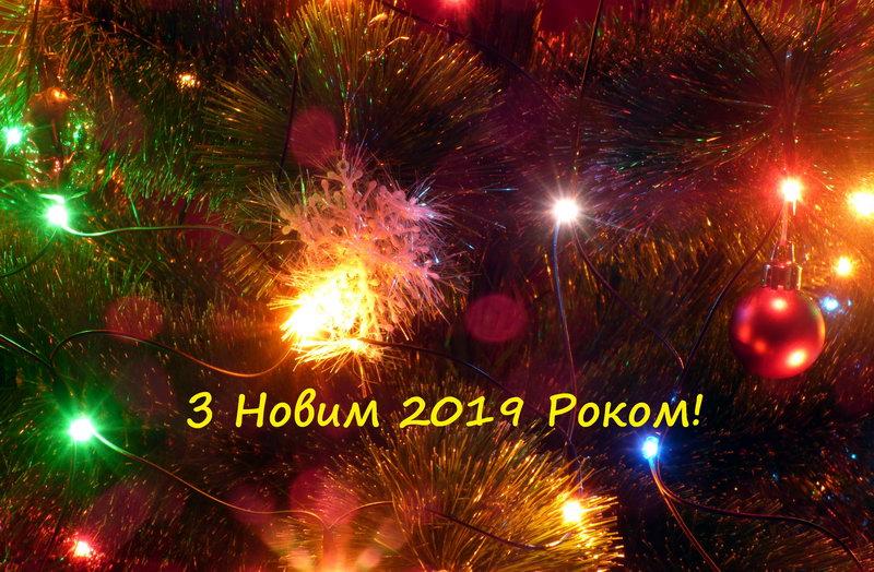 З Новим 2019 Роком!