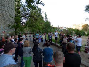 Збори мешканців будинку за адресою Ціолковського 6Б.